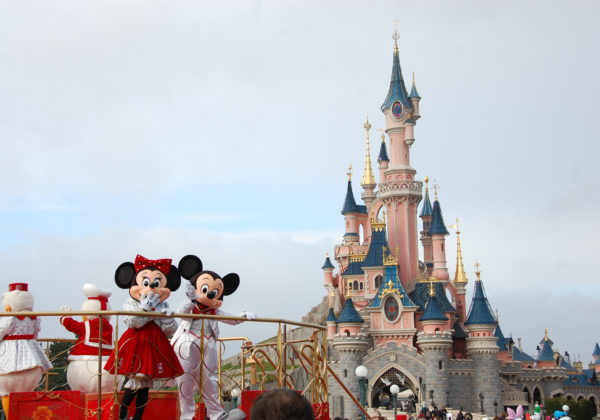 Christmas Season at Disneyland Paris